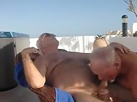Bears Silver Older gay Men straight video cruising.