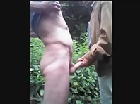 Old Men Wanking Each Other