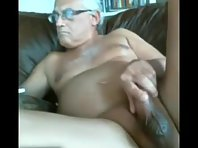 A German Older gay Men is jerking off big dick showing a straight truck drivers Tube.