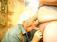 My favorite Older gay Men is licking balls featuring a mature cruisers Tube.