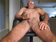 Hairy Grand Dad straight vids cruising.