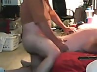 Japanese Mature men bisex video fucking.