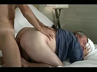 Hairy Grand men bisex clip sucking.