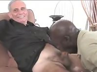 Old bear jerking off big dick together with a mature exhibisionists Tube.